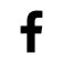 אייקון פייסבוק לבן
